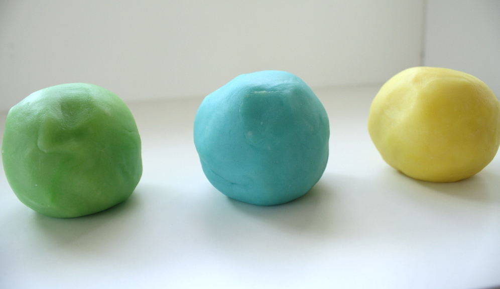 Five Little Guys Cooked Play Dough