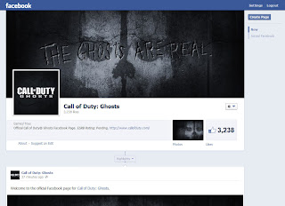 cod ghosts facebook screen Call of Duty: Ghosts Officially Confirmed!