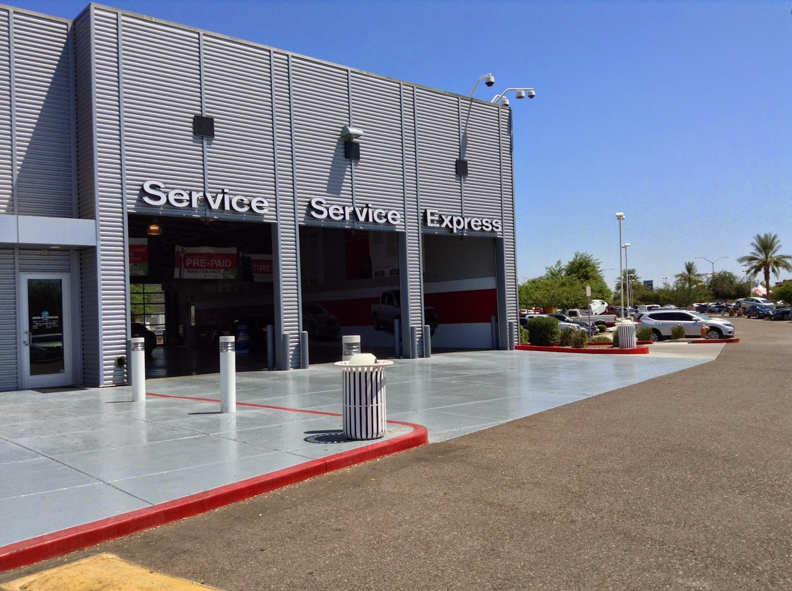 ... Larry H Miller Nissan Mesa Service Center. Our Nissan Repair Center  Does All Types Of Servicing From Oil Changes, State Inspections, Alignments  And All ...