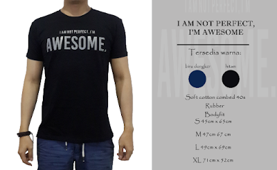 kaos distro i am not, perfect i'm awesome