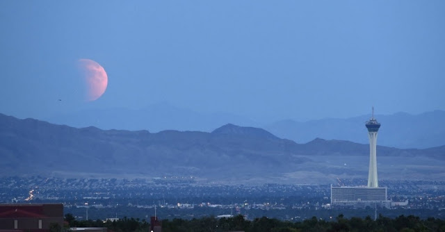 Eclipse - Nevada- EUA - David Becker