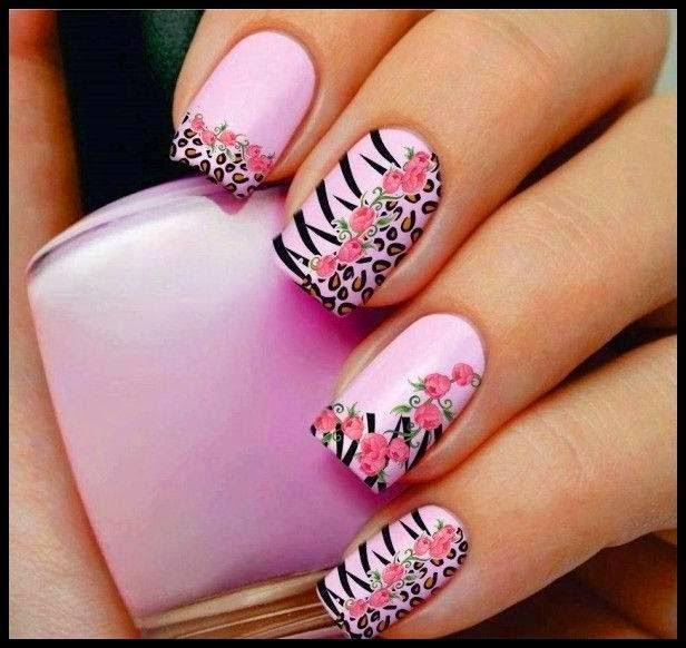 Acrylic nail art design   Fashion\'s Feel   Tips and Body Care