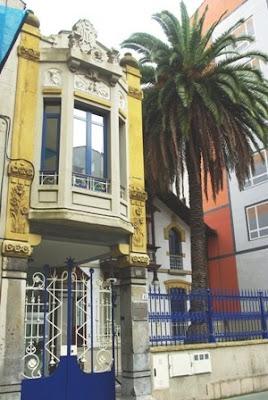 Gijón, Modernismo, edificio calle Cabrales 82