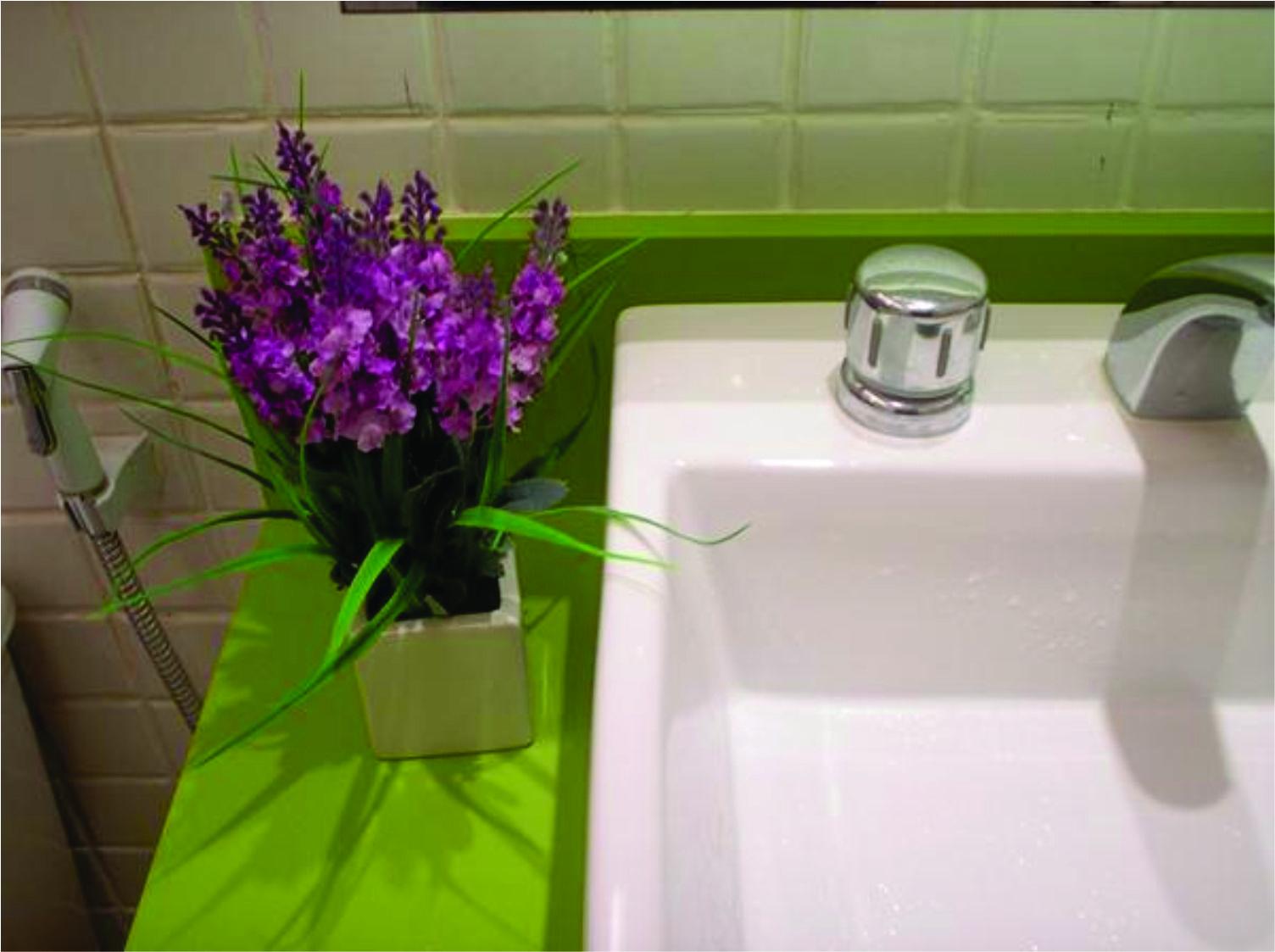 HELENA TORRES: REFORMA DE APARTAMENTO NA BARRA BANHEIRO ROMÂNTICO #8D3E68 1504x1123 Banheiro Com Banheira Verde