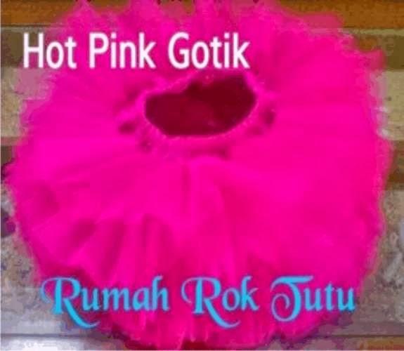 ROK TUTU GOTIK HOT PINK/ PINK FANTA