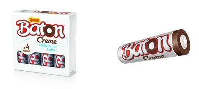 Chocolate, Garoto, Baton