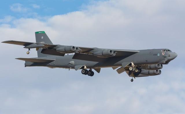 Bombarderos B-52 Stratofortress surcarán los cielos colombianos, en el marco de la F-AIR COLOMBIA 2015.