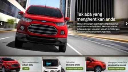 Tampilan Mobil Ford Ecosport