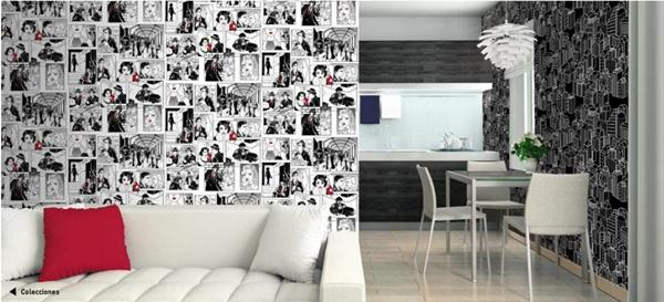Papel pintado papel pintado versatile danslemur for Papel pintado comic