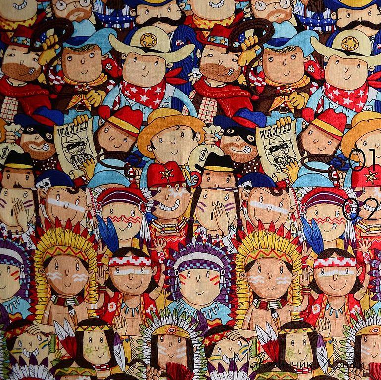 американские ткани для детей