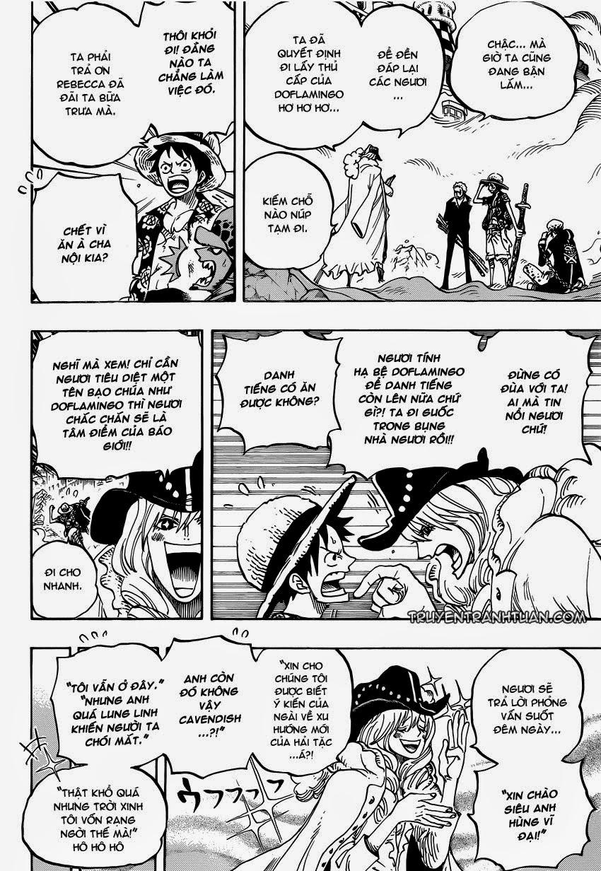 one piece truyentranhtuan com chap 748 trang 009, One Piece chap 748   NarutoSub