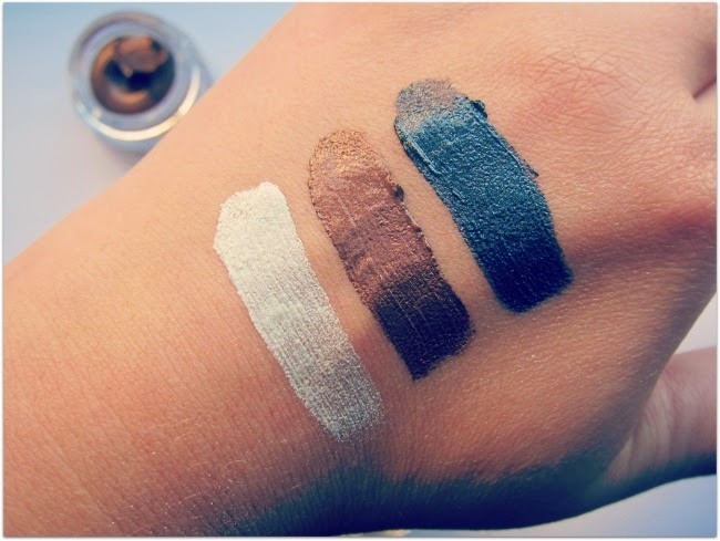 Max Factor Excess Shimmer Gel Eye Shadows Swatches