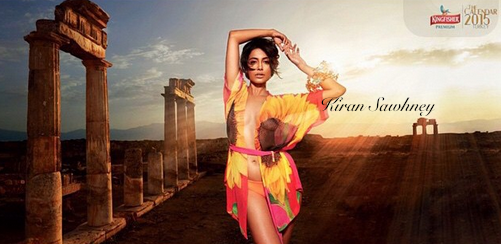 Sarah Jane dias for Kingfisher calendar 2015