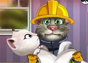 Talking Tom Become Fireman 2
