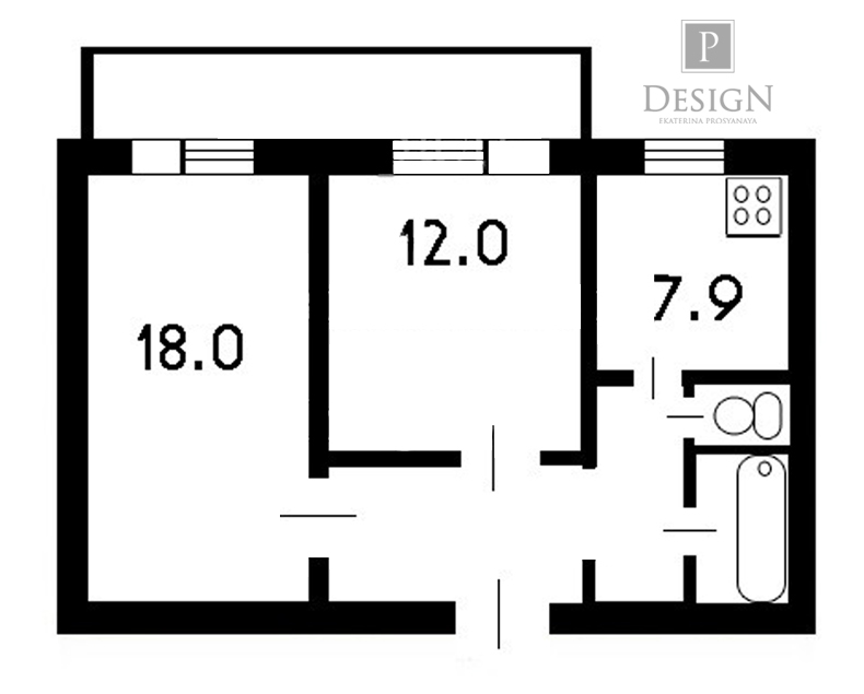Присоединение лоджии к комнате со снятием оконного