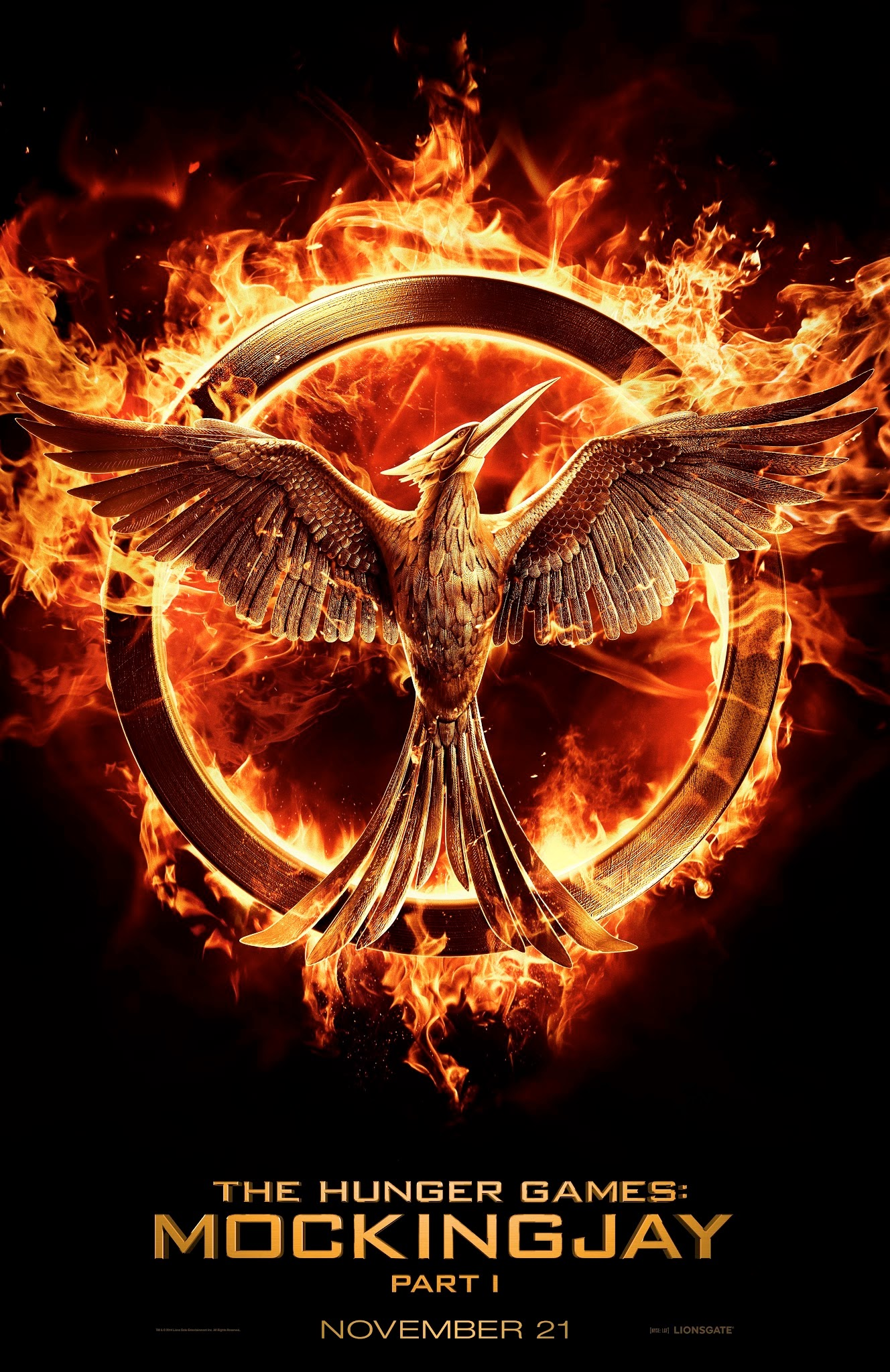 Welcome to district 12 official high res mockingjay logo lionsgate released the super epic logo for mockingjay part 1 that was so awesomely revealed at the end of catching fire graphic makers go nuts buycottarizona