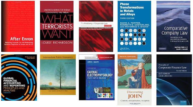 A selection of new books added to Library stock in October 2015.