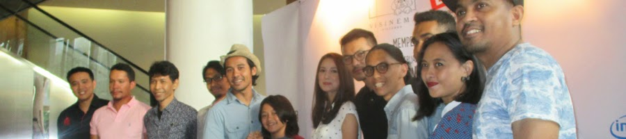 Para Pendukung Film Filosofi Kopi The Movie di Press Conference Syukuran Menjelang Syuting