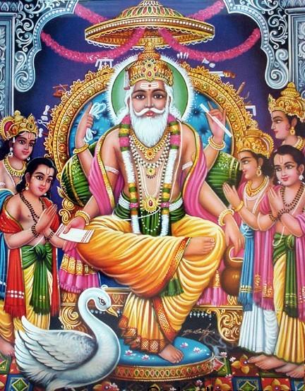 Hindu God Wallpapers Lord Vishwakarma