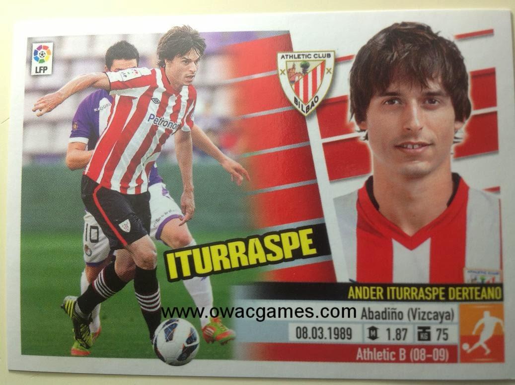 Liga ESTE 2013-14 Ath. Bilbao - 9 - Iturraspe