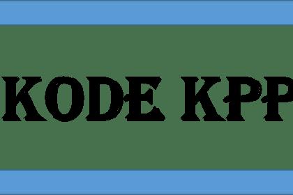 Kode KPP di Indonesia (update 2015)