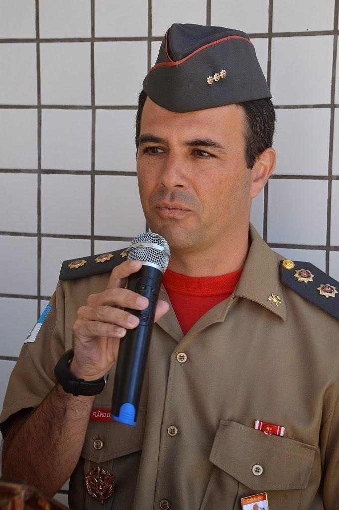 Cel. Flavio Luiz de Castro, cte. do CBA Serrano, ressalta o bom trabalho feito pelo destacamento