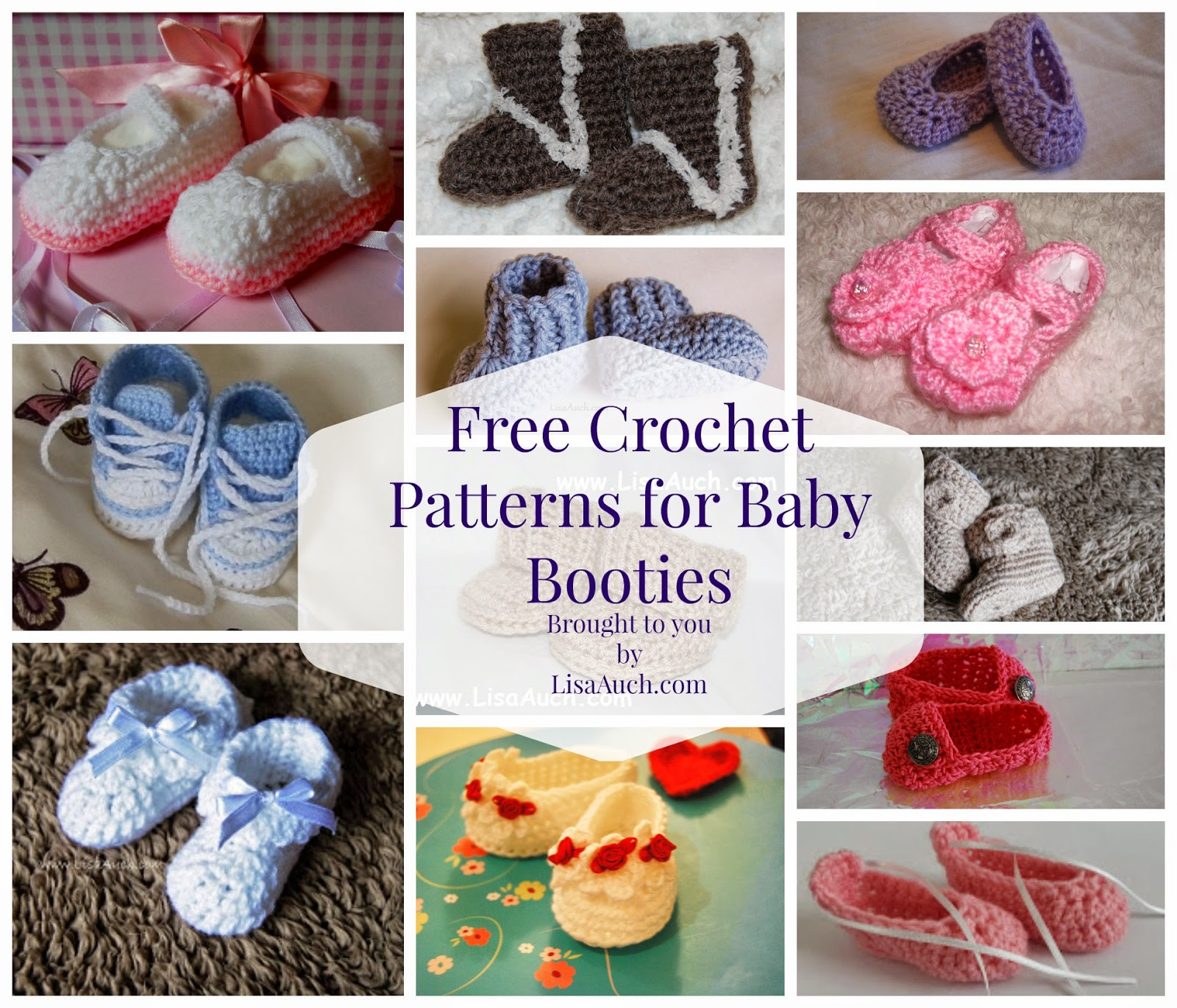 Free crochet patterns baby booties free crochet patterns and free crochet baby booties patterns baby booties free crochet patterns bankloansurffo Image collections