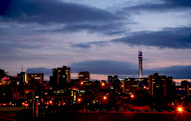 Birmingham Alabama Skyline at Night