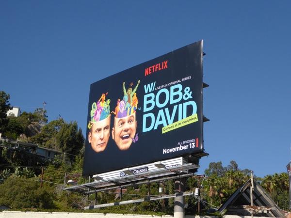 Bob David Netflix series billboard