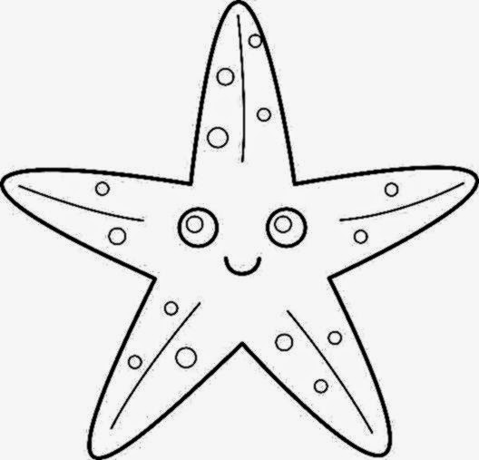 Irresistible image in starfish printable