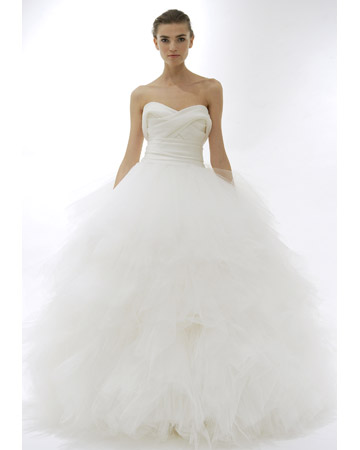big giant poofy wedding dresses
