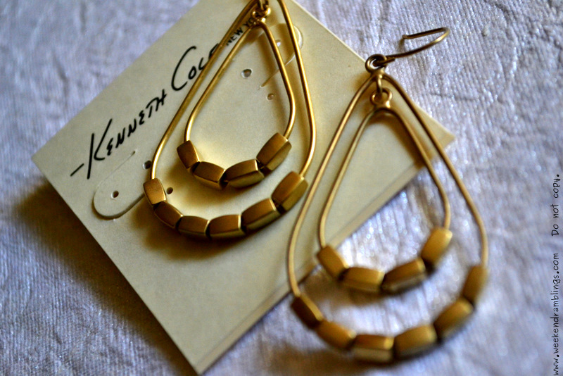 spring summer 2012 fashion trends big stone hoop earrings jewelry women kenneth cole
