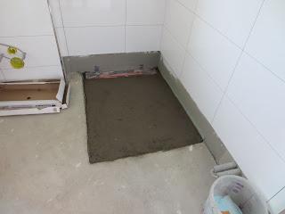 wir bauen in remagen bodentiefe dusche. Black Bedroom Furniture Sets. Home Design Ideas