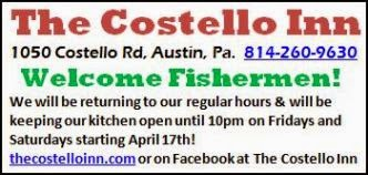 Welcome Fishermen, Costello Inn