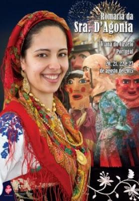 Imagem do Cartaz da Romaria da Srª d'Agonia