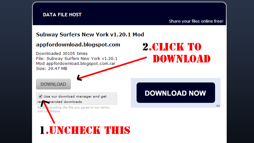 How to Download From Datafilehost.com