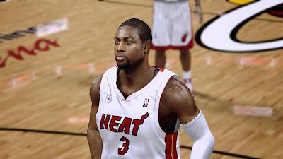 NBA 2K14 Dwyane Wade Regular Hair