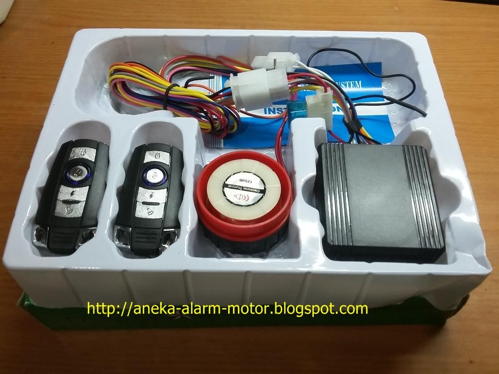 Toko Diwan Jual Dan Pasang Alarm Motor Remote Tangerang Kunci Electric Wireless Sepeda Harga Panastar 210rb