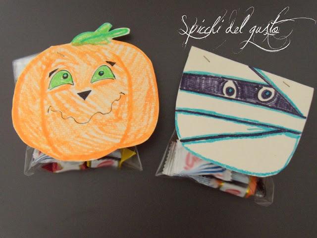 sacchetti porta caramelle per halloween