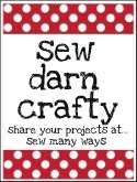 Sew Darn Crafty...Linking Party!!