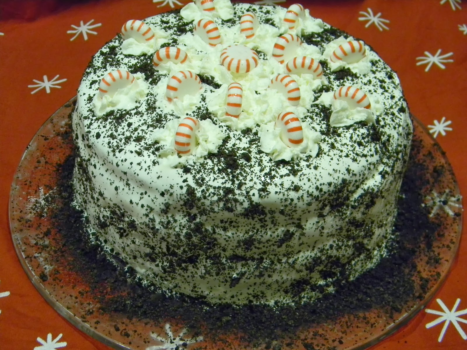Recipes from the Pickle Boat: Chocolate Peppermint Cake