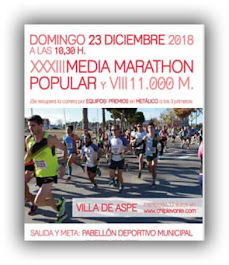 23-12-2018 XXXIII MEDIO MARATÓN ASPE 2018