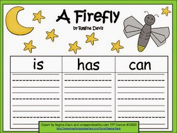 http://www.teacherspayteachers.com/Product/A-Firefly-Three-Graphic-Organizers-588545