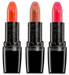 Make B. coleção Tropical Colors batons O Boticário