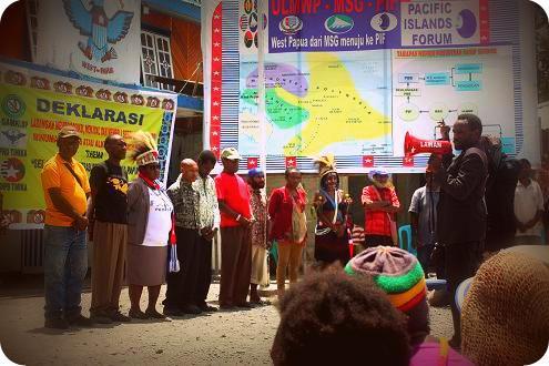 Deklarasi Bersama Gerakan Anti Minuman Keras Lintas Bangsa Papua (GAMKLBP)