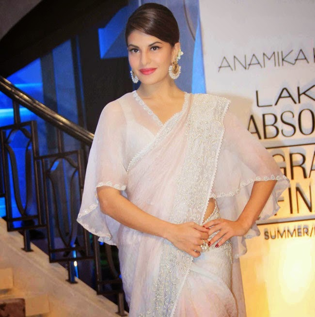 Jacqueline Stills at Anamika Khanna Show From LFW 2015 Event