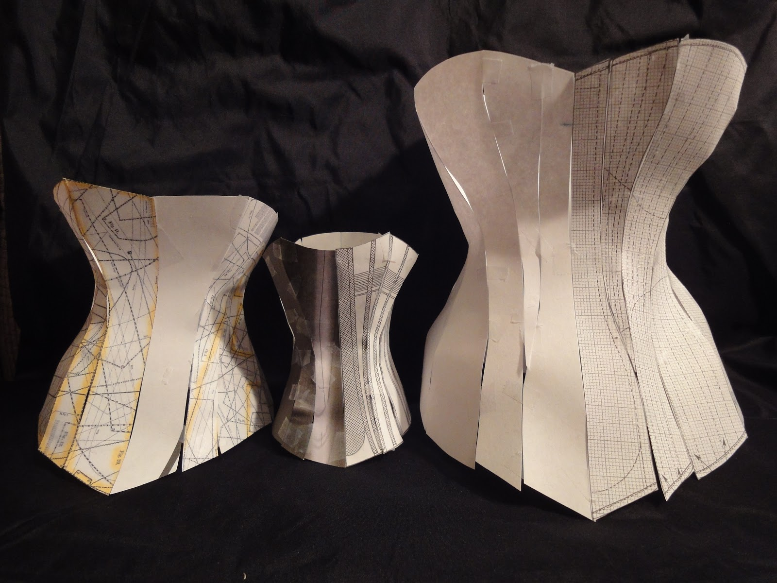 Festive Attyre: a natural form corset