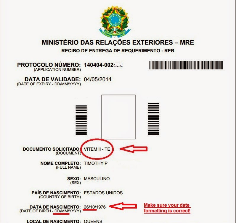 Visa Process: Tourist Visa for Brazil and Other Important Requirements