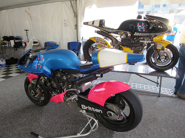 Britten V1000 P001 and P002