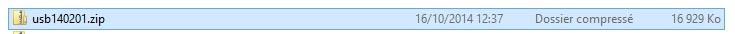 Zip pour usb     usb140201.zip  fichier zip  16929 ko  Fichier pour créer une clé USB bootable